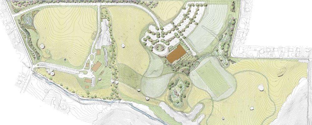 Landscape Architecture Plan 1000x400